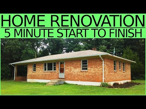 ONE MAN RENOVATION (plus my Dad) - Summer Project House