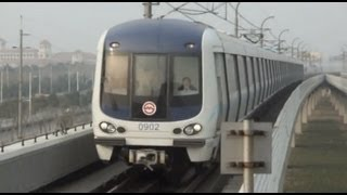 preview picture of video '[Shanghai Metro012]Line9 AC04/AC09 Train 上海地下鉄9号線AC04・AC09@SheShan 佘山'