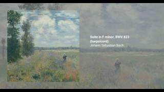 Suite in F minor, BWV 823