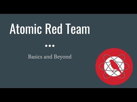 Atomic Red Team Training - Basics and Beyond - YouTube