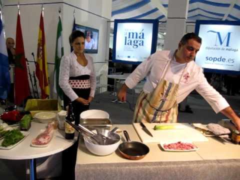 """Show Cooking en la feria """"Sabor a Málaga"""""""