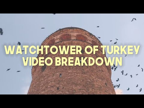 WATCHTOWER OF TURKEY EDITING TUTORIAL (Transitions, Free LUT, + MORE)