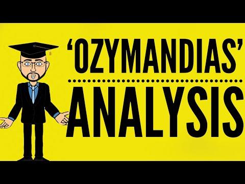 irony in ozymandias by percy bysshe shelley