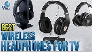 10 Best Wireless Headphones For TV 2018