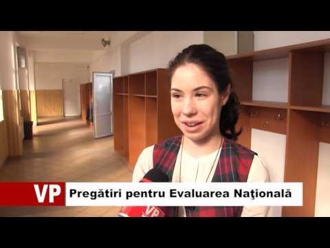 Pregătiri pentru Evaluarea Naţională
