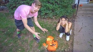 PUMPKIN PATCH DATE WITH MY CRUSH!! (GONE WRONG)
