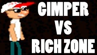 LEPSZE OD GIMPER SIMULATOR?! | GIMPER VS RICH ZONE #01