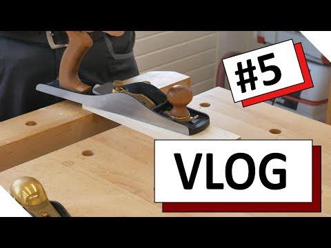 VLOG #5 - Tipps und Wissenswertes zu Holzleim und Handhobeln
