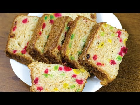 EGGLESS TUTTI FRUTTI CAKE l WITHOUT OVEN