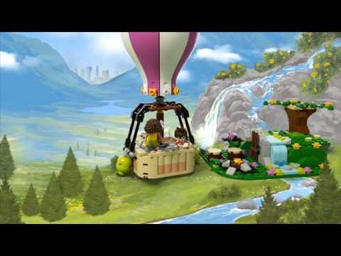 Конструктор Воздушный шар - LEGO FRIENDS - фото № 10