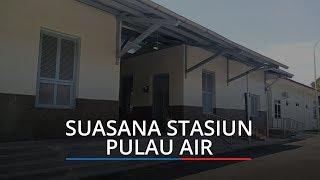 Kereta Api Jalur Padang Pulau Air Beroperasi 12 Maret 2020, Ada Delapan Perlintasan yang Dilewati