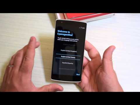 OnePlus One: Unboxing e primo avvio