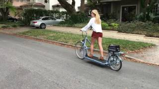 Treadmill Bike around Orlando on the Lopifit!
