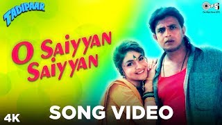 O Saiyyan Saiyyan Song Video - Tadipaar   Vinod Rathod, Alka Yagnik  Mithun, Pooja Bhatt   90s Hits
