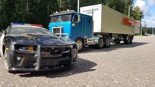 Тормознули фуру, а там .......   Прицеп за 30 000 руб. для грузовика (Tamita RC Truck)