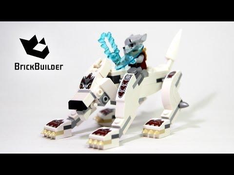 Vidéo LEGO Chima 70127 : Le loup légendaire