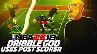 a dribble god uses a post scorer for the first time on nba 2k19.. shocking results