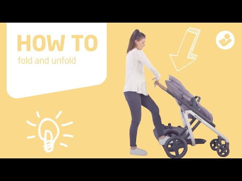 Maxi-Cosi | Lila stroller | How to fold and unfold Lila