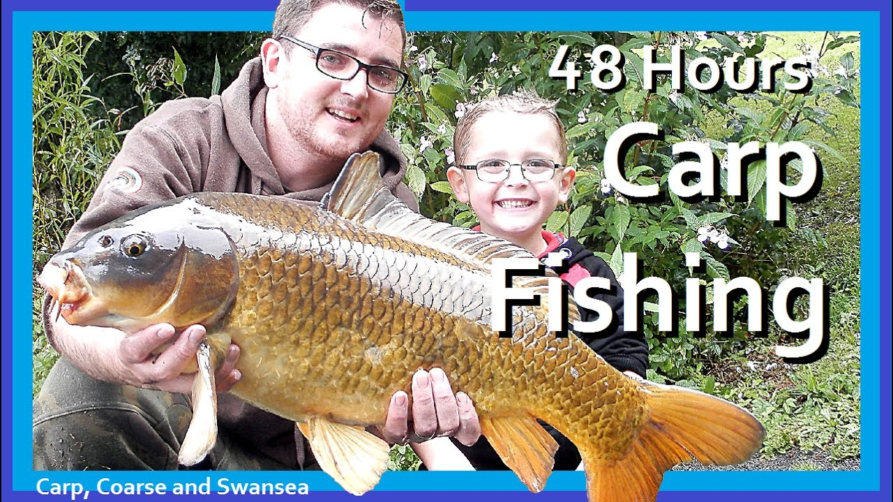 48 Hours Carp Fishing on the Fendrod. Carp, Coarse and Swansea Video 142