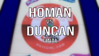 2020 STOH Finals - Homan vs Duncan