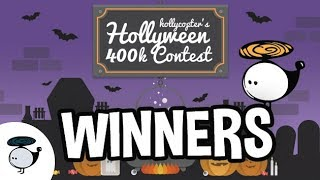 HOLLYWEEN 400K CONTEST WINNERS!!!