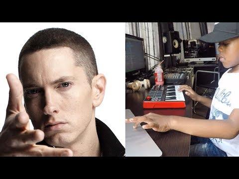 Eminem – Mockingbird Beat Creation By 6 Year Old DJ Arch Jnr