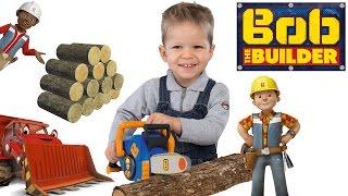 Vaikiškas statybininko Bobo grandininis pjūklas | Smoby 360133