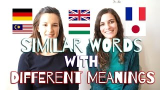 What is false friends in language