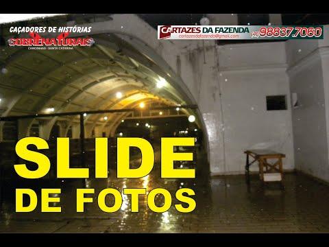 SLIDE DE FOTOS ESTAÇÃO E TÚNEL DE SC A PR