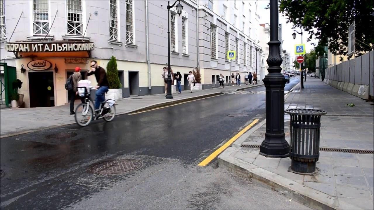 Видео трафика Большая Бронная ул. д.23 стр.1