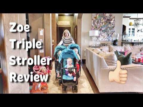 Zoe XL3 Triple Stroller Review and Comparison: Is Caroline Impressed?