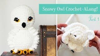 Snowy Owl Crochet-Along!