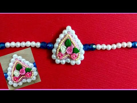 Rakhi with clay