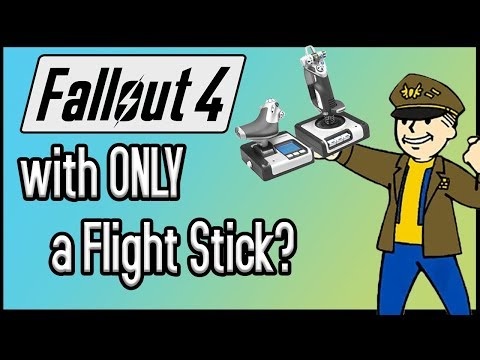 Can You Beat Fallout 4 With ONLY a Flight Stick?