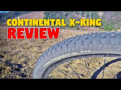 Continental X-King 27.5 x 2.2 Tire HONEST Review