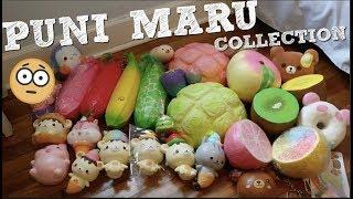 MASSIVE PUNI MARU SQUISHY COLLECTION!! 2018
