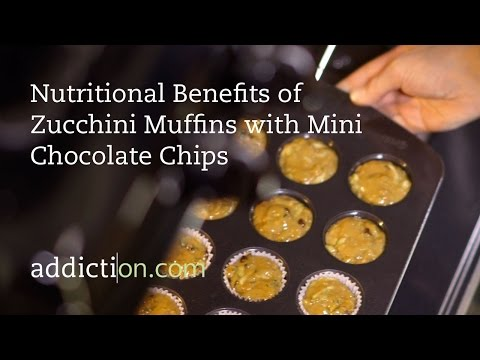 Benefits of Zucchini Muffins with Mini Chocolate Chips
