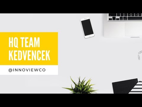 INNOVIEW  - HQ Team: Kedvencek videó