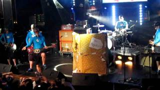 """Lobster Battle"" by Aquabats at Culture Room 2010"