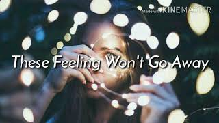 These Feeling Won't Go Away - Loving Caliber [Lyrics /Lyric Video]