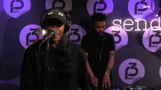 "P3 Christine Live: Angel Haze ""Gossip Folks"" (Missy Elliott cover)"