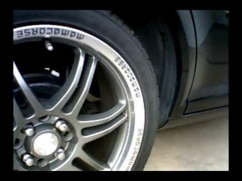 "Chevrolet Cobalt 18"" Momo Corse RPM Wheels Blue Burnt Tip Twister Muffler"