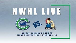 NWHL Live: Metropolitan at Connecticut 1.6.19