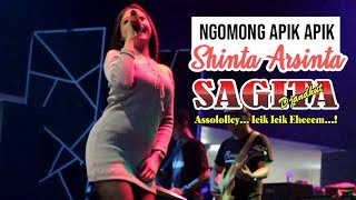 Shinta Arsinta - Ngomong Apik Apik - Sagita Music - Live At New Exito Cafe 2019