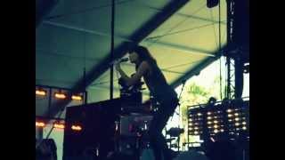 Dragonette - The Right Woman - Coachella 2012