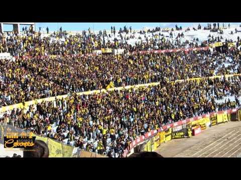 """""""Compilado hinchada Peñarol vs. Cerro Largo   Clausura 2014"""" Barra: Barra Amsterdam • Club: Peñarol"""