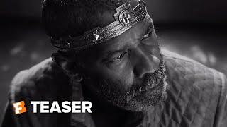 Movieclips Trailers The Tragedy of Macbeth Teaser (2021)  anuncio