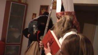 preview picture of video 'Mikuláš a  čerti Záhorovice 2010.avi'