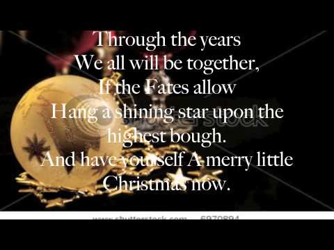 Have Yourself A Merry Little Christmas Lyrics Michael Buble