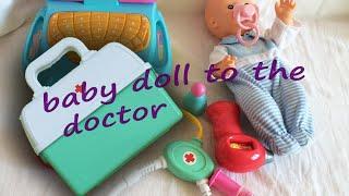 Play for kids Newborn Baby Doll NENUCO Hospital Kit Medical-Nenuco Centre de Maternité Poupon